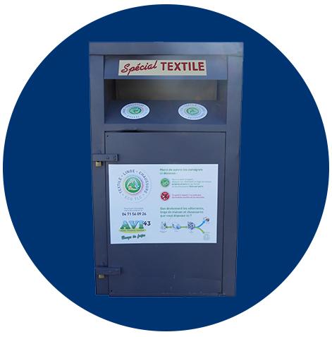 Colonne textile rond 2